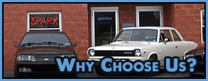 Why Choose Sparx Auto?